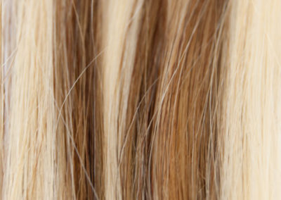 Color extensiones ginger M8D-11 Mechado rubio dorado y avellana