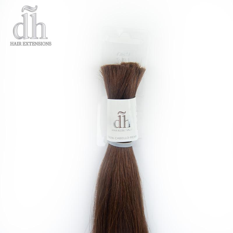 Extensiones de nudo de cabello Remy de DH Hair Extensions