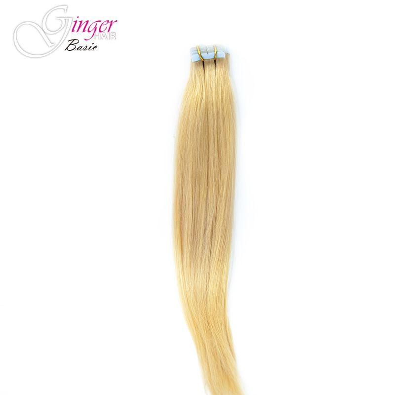 Extensiones adhesivas 20 unidades Ginger Basic, detalle caída del cabello