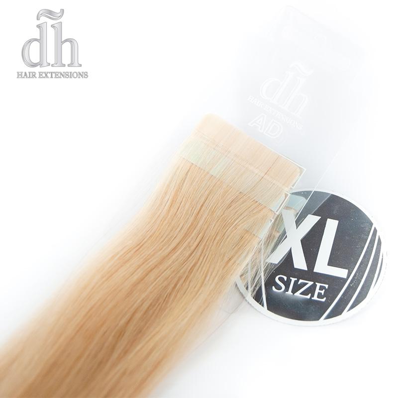 Extensiones adhesivas XL cabello remy de DH Hair Extensions