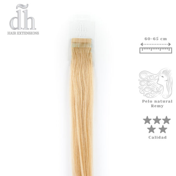 Extensiones adhesivas largo XL - 60-65 cm, cabello Remy