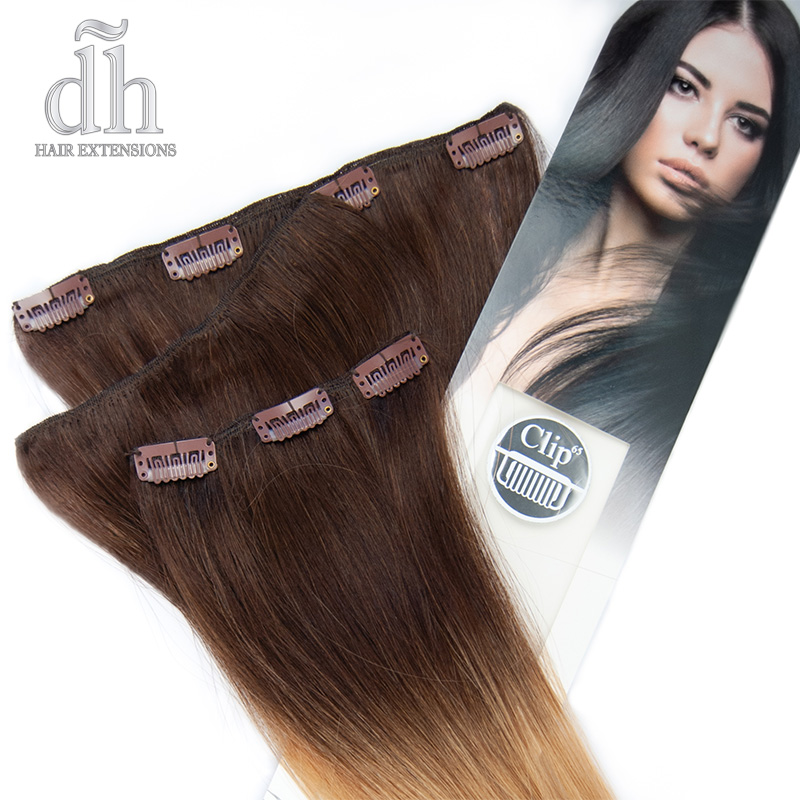 Extensiones de clip californianas Remy - DH Hair Extensions