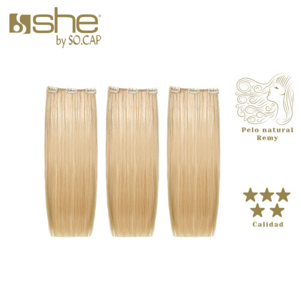 Extensiones de clip Easy 20 de la marca She by Socap
