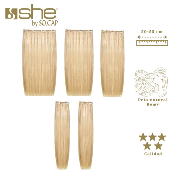 Extensiones de clip Easy Long Hair de la marca She by Socap