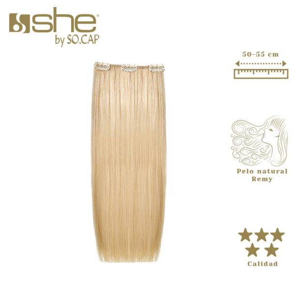 Extensiones de clip Easy One Clip de la marca She by Socap