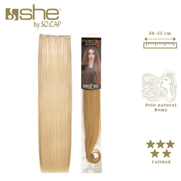 Extensiones de clip Hair Clip 16 de la marca She by Socap