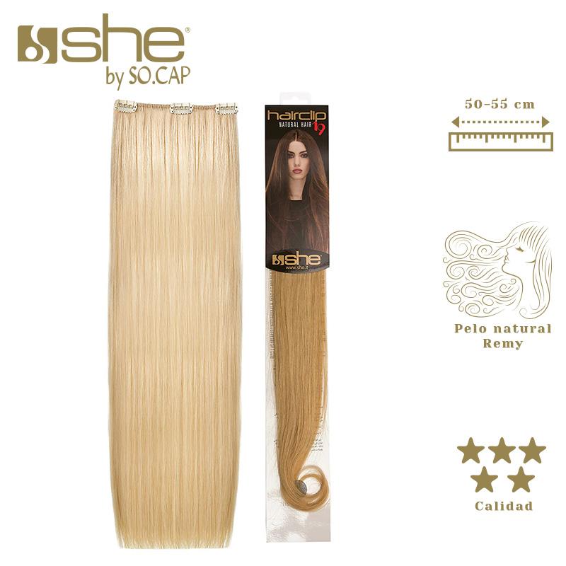 Extensiones de clip Hair Clip 19 de la marca She by Socap