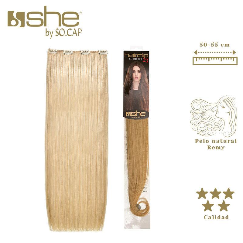 Extensiones de clip Hair Clip 23 de la marca She by Socap