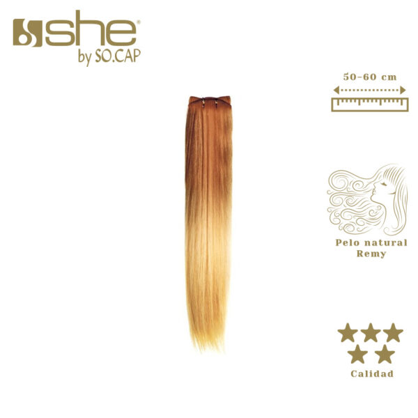 Extensiones tejidas californianas de She By Socap