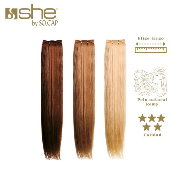Extensiones de cortina lisas She By Socap