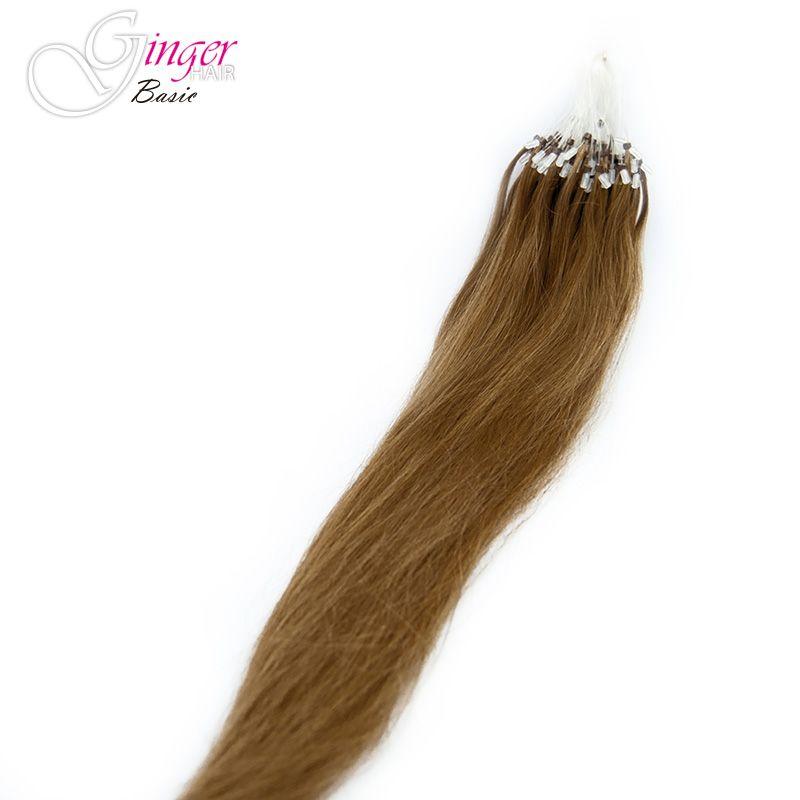 Extensiones de microring de Ginger Basic, caída del cabello