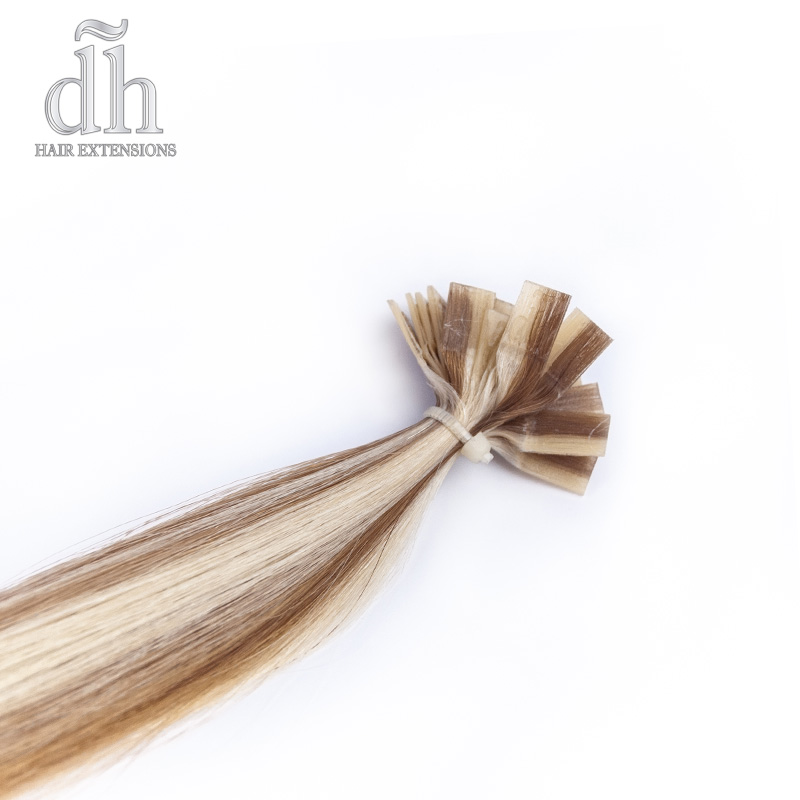 Extensiones de queratina, cabello Remy de DH Hair Extensions