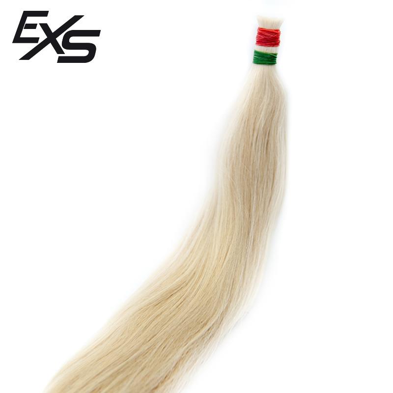Pelo virgen de cabello europeo suelto decolorado con textura lisa