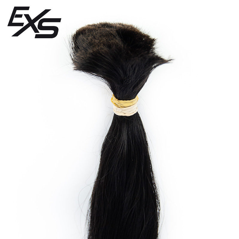 Pelo virgen de cabello hindú suelto con textura lisa