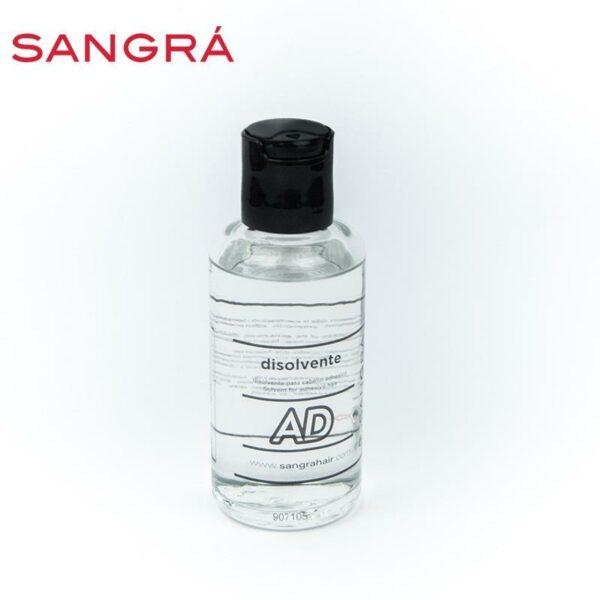 Bote de cristal de disolvente para adhesivas de Sangrá