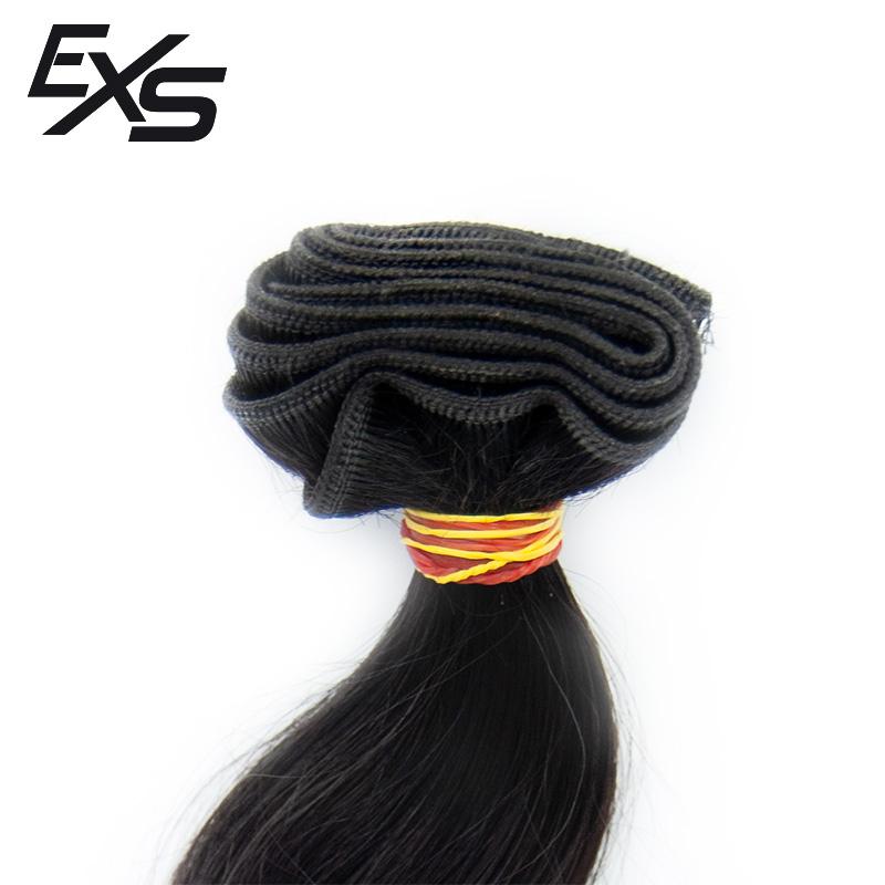 Pelo virgen de cabello europeo cosido con textura semiondulado