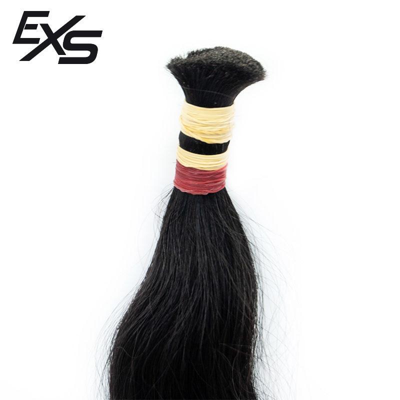 Pelo virgen de cabello europeo suelto con textura semiondulado