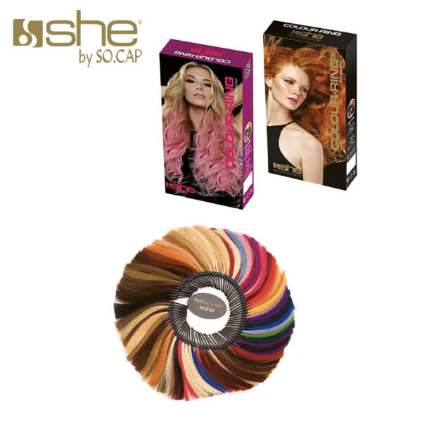 Muestrario de color de She by Socap