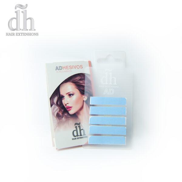 Recambio de extensiones adhesivas de la marca DH Hair Extensions