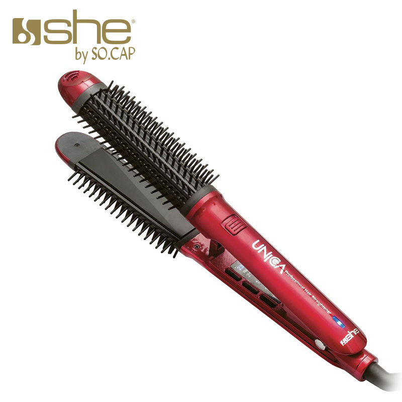 Rizador de pelo y plancha alisadora Unica