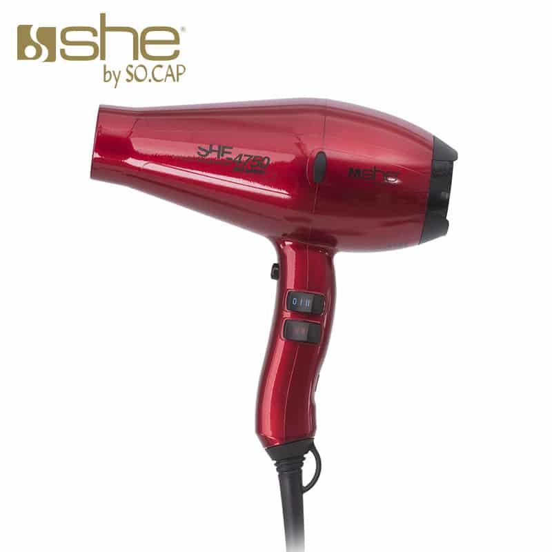 Secador profesional 4750 rojo - She by SOCAP