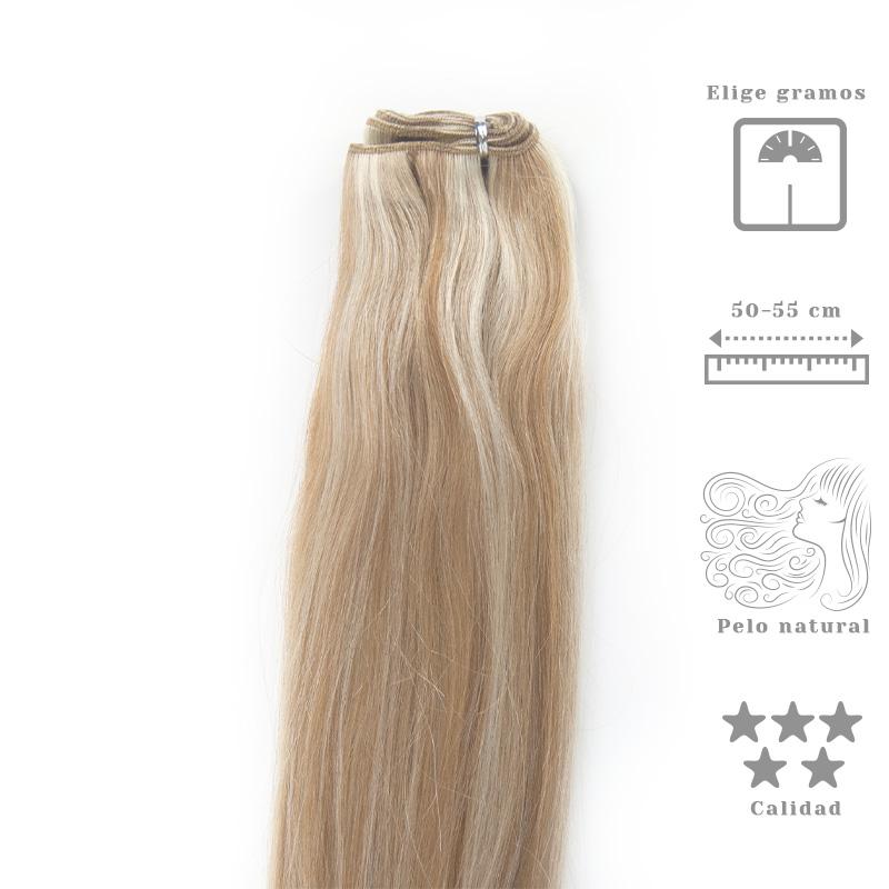 Extensiones de cortina de cabello remy