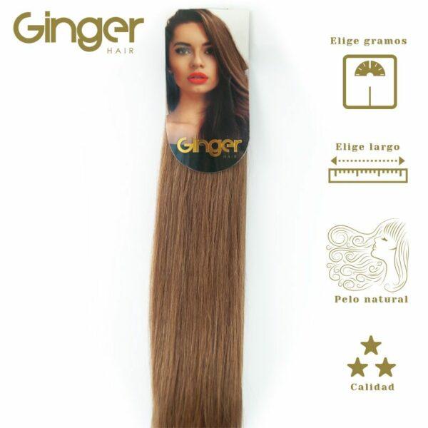 Extensiones de cortina Ginger, visión empaquetado