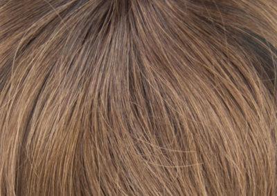 DH Flequillo - T2.6 - Marrón chocolate y castaño claro