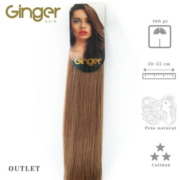 Extensión en cortina outlet Ginger de 50-55 cm