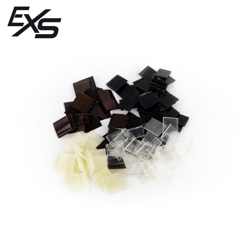Uñas de queratina de la marca Extensiones Sur en color marrón chocolate, negro, beige o transparente