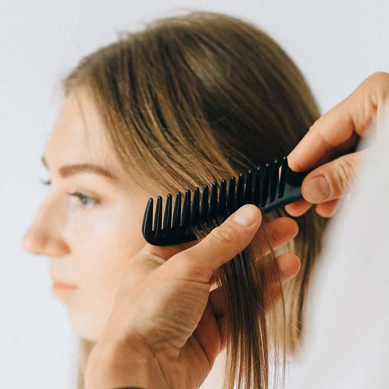 Servicio de matización del color para el pelo